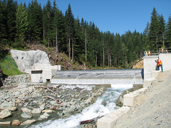 150 MW Kwalsa and Upper Stave Hydroelectric Project