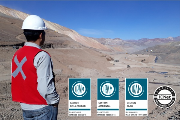 Knight Piésold Argentina Achieves ISO Recertification with Expanded Scope