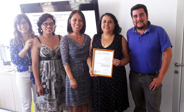 Knight Piésold Chile Receives Bronze Certification for Joint Committee on Hygiene and Safety