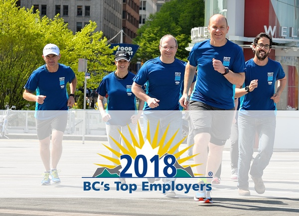 Knight Piésold Canada Named One of British Columbia's Top Employers for 2018